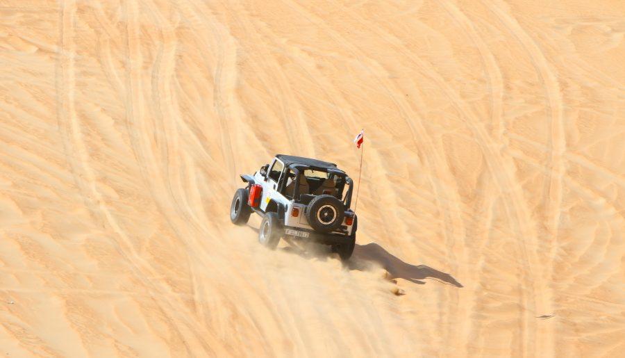 In the Desert again!